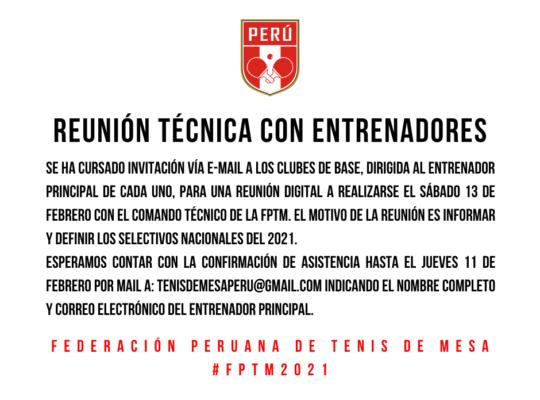 Comunicado FPTM