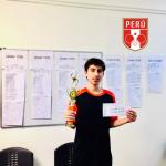 ¡Julio Villar campeón en Princeton Pong USA Open!