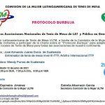 """Invitación a la charla sobre el """"Protocolo Burbuja"""""""