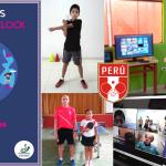 """Peruanos participan en el Programa ITTF """"Hopes around the Clock"""""""
