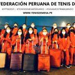 Tenimesistas peruanos rumbo al Panamericano en República Dominicana